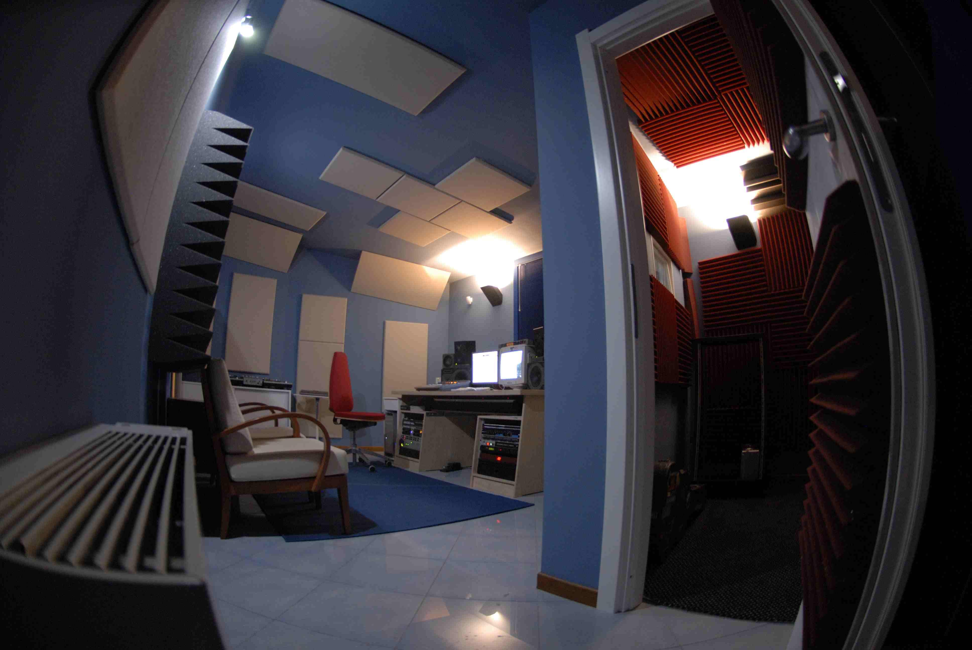 trattamento acustico control room sushistudio1