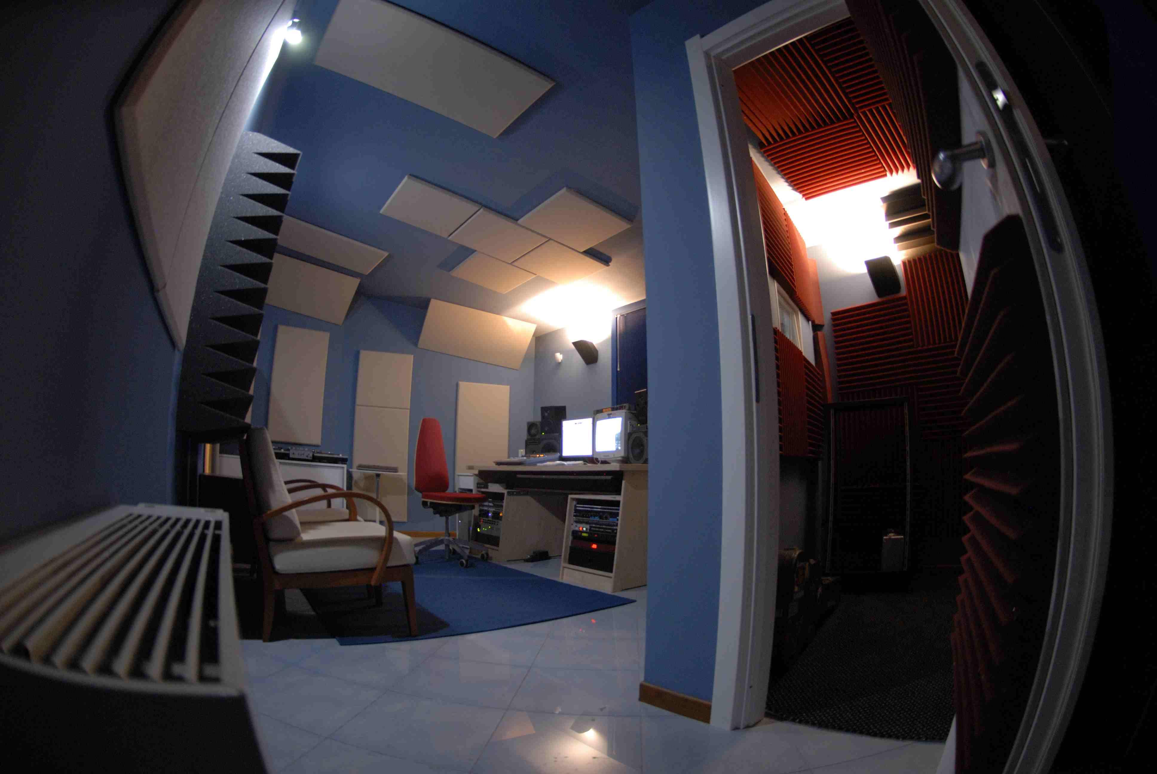 trattamento acustico control room sushistudio2