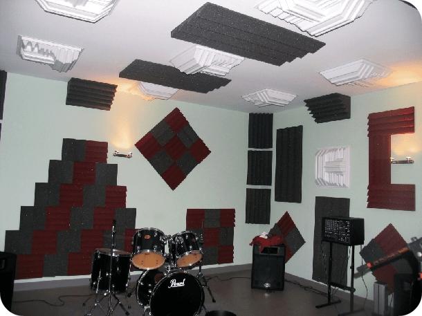trattamento acustico sala prove