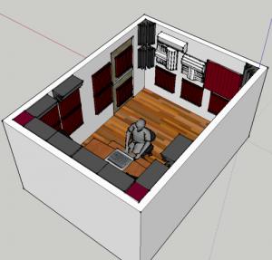 Kit Auralex Roominator Deluxe Plus