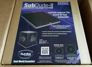 Disaccoppiatori per subwoofer SUBDUDE II