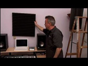 applicare pannelli fonoassorbenti in un home studio
