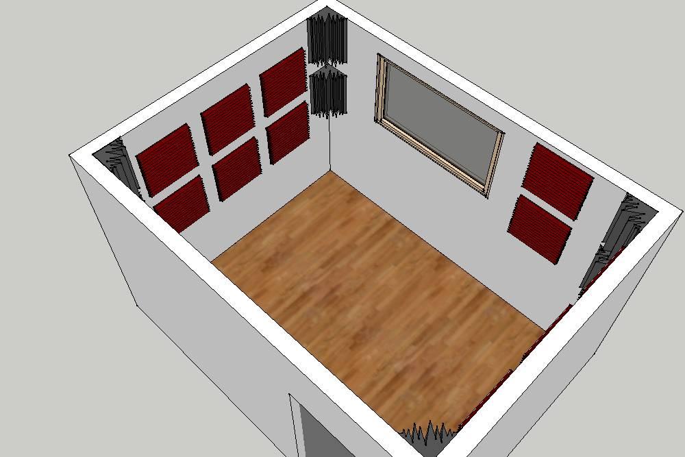 Costruire una sala prove insonorizzata terminali - Sala insonorizzata ...