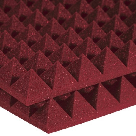Studiofoam Pyramids 5cm - Burgundy