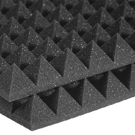Studiofoam Pyramids 5cm - Charcoal