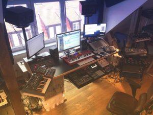 Buso Audio – Mobili studio custom