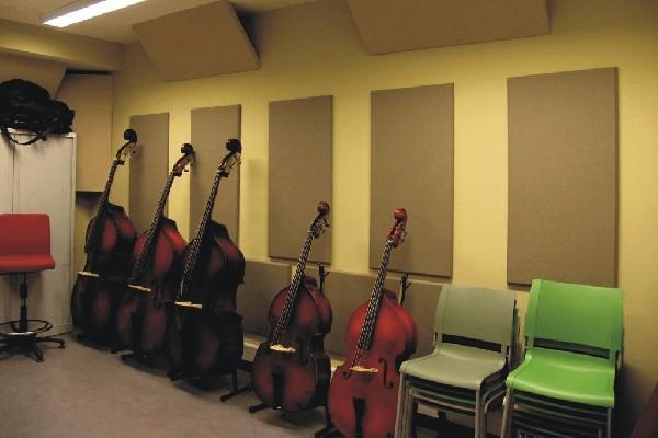 Pannelli Fonoassorbenti Elite Pro Panels , MetroFusor Diffusor in scuola di musica, Sala prove,