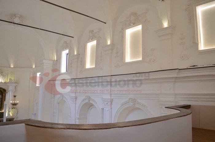 trattamento acustico chiesa con fonoassorbenti classe 1