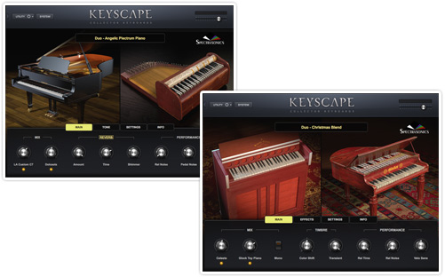 Spectrasonics Key scape scatola boxed duos