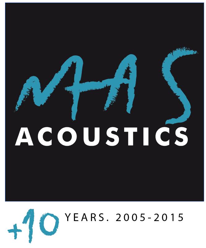 Logo Masacoustics 10 Anni