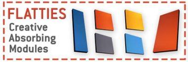 pannelli fonoassorbenti flatties colorati