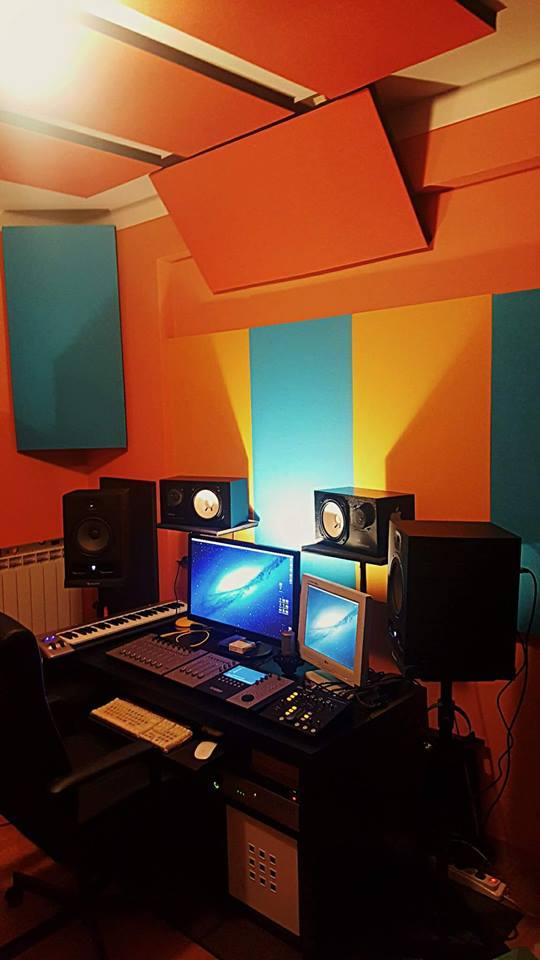 pannelli fonoassorbenti flatties control room
