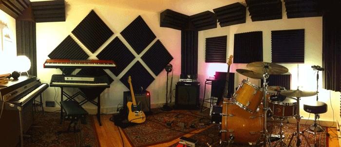 Blend Noise Recording Studio Trattamento Acustico Live room