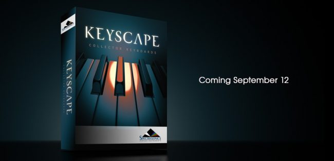 Spectrasonics Key scape scatola boxed
