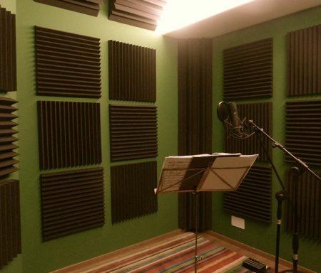 Trattamento acustico PAF STUDIO (ampliamento)