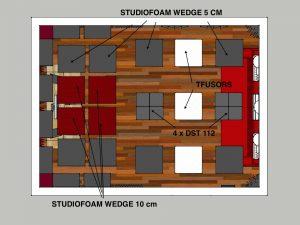 immagine trattamento acustico control room 2