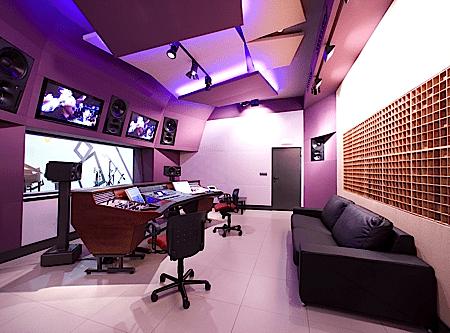 Trattamento Acustico Studio di Registrazione : Laboratorio Audiovisual
