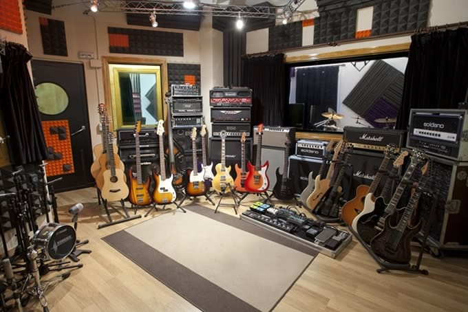 trattamento acustico studio di registrazione