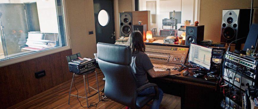 trattamento acustico studio registrazione