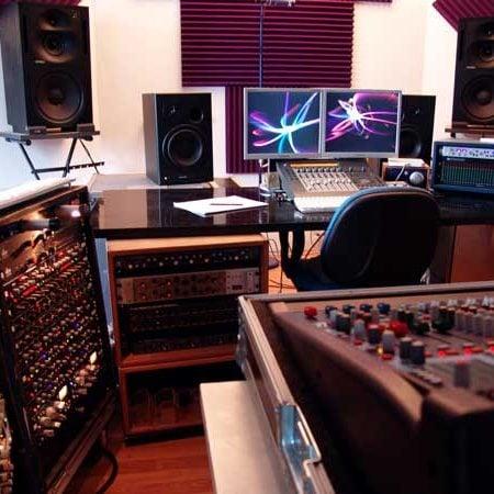 Trattamento Acustico Blu Noise Recording Studio