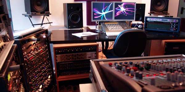 Trattametno Acustico auralex control room blu noise studio 2