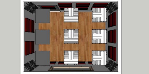 trattamento acustico sala prove Kit Roominator Deluxe Plus™
