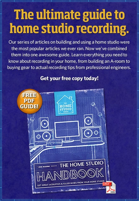 Manuale Home Studio Recording