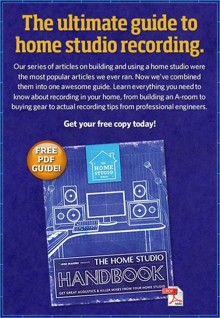 Manuale Home Studio Recording