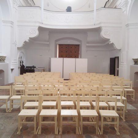Trattamento acustico Chiesa del Crocifisso Castelbuono (PA)