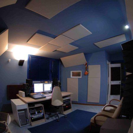 Trattamento Acustico Control Room – Sushi Studio