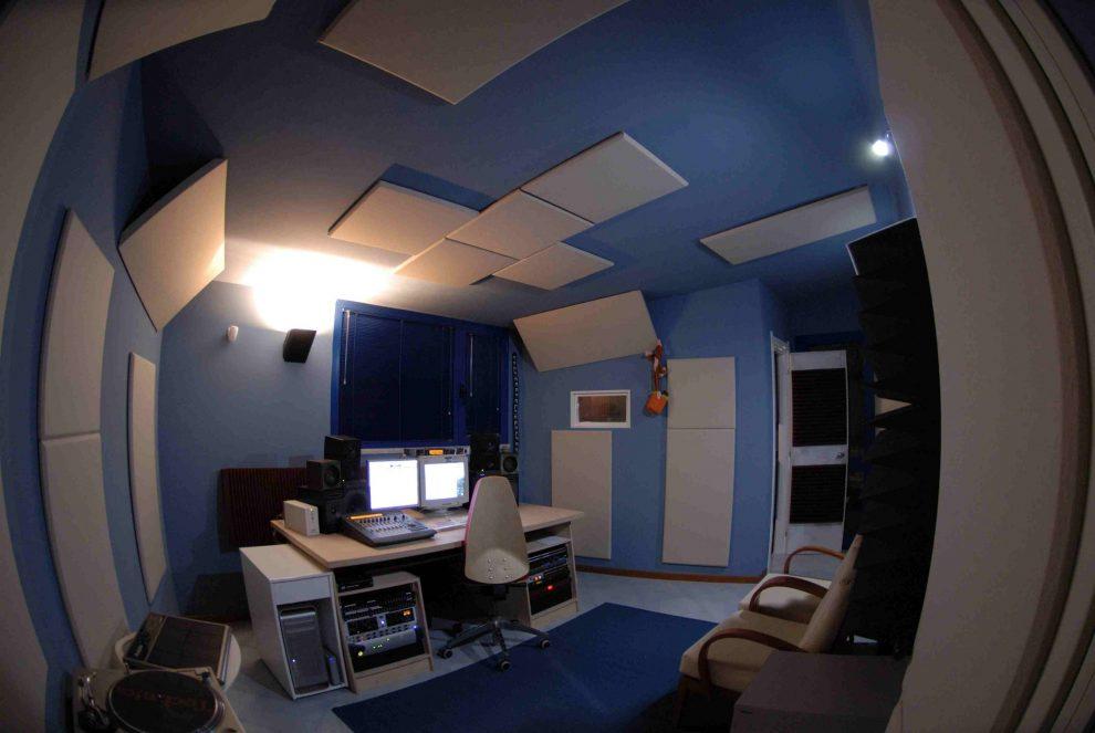 trattamento acustico control room sushistudio4