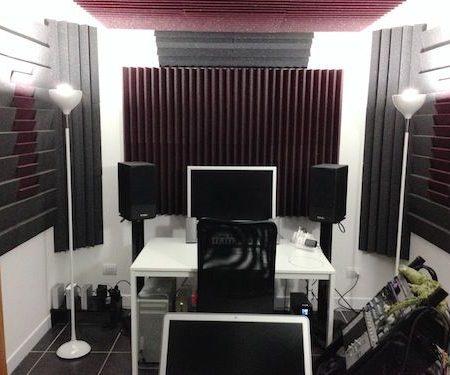Trattamento acustico Masterdub – Milano