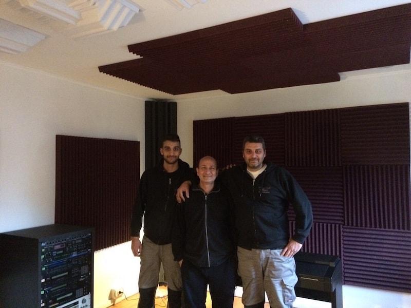 trattamento e isolamento acustico project studio