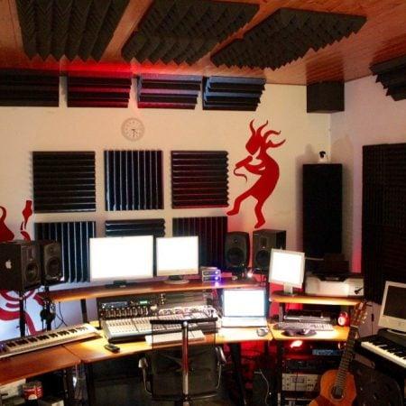 Trattamento Acustico Studio di Registrazione Tappeti Sonori