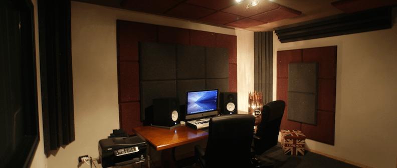 trattamento acustico control room