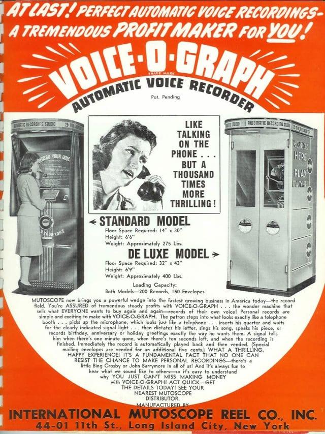 voice o graph
