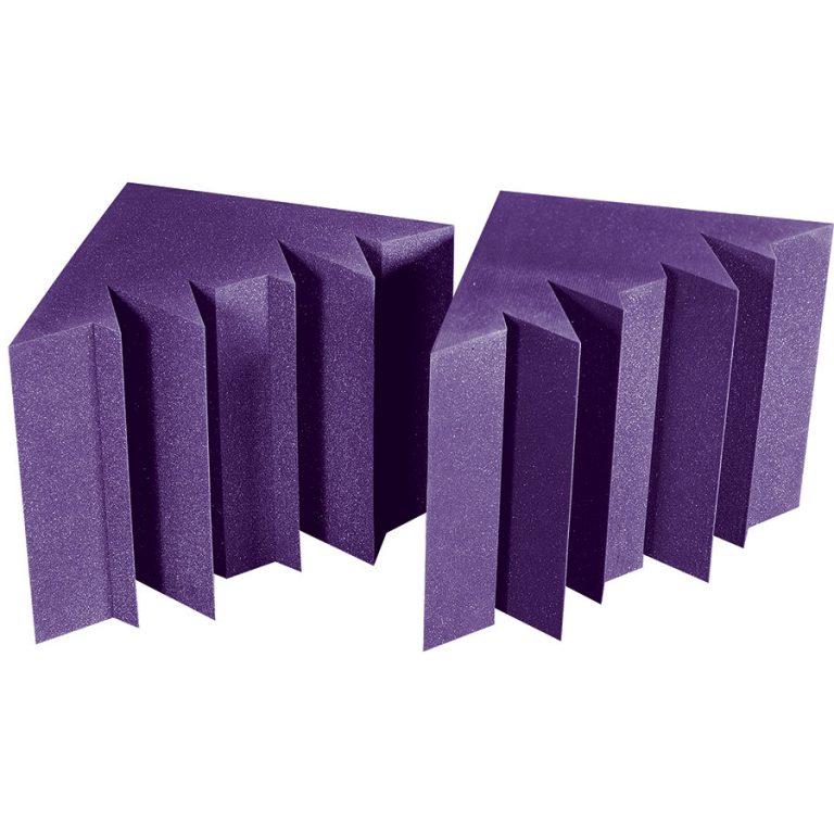 MEGA LENRD Bass Traps - Purple (viola)