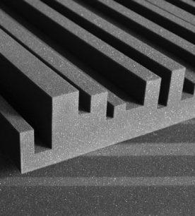 Dettaglio Auralex Studiofoam Metro 5cm 10cm Charcoal (grigio)