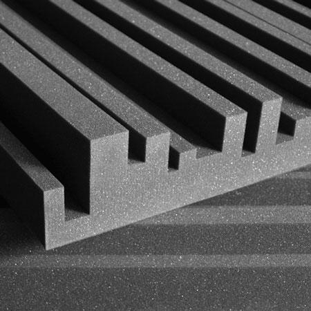 Studiofoam Metro 5cm 10cm Charcoal (grigio)