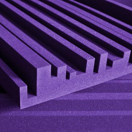 Studiofoam Metro 5cm 10cm Purple (viola)