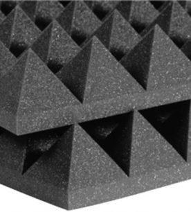 Dettaglio Auralex Studiofoam Pyramids 10cm Charcoal