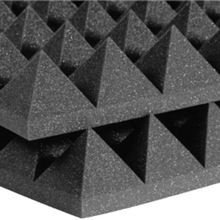 Studiofoam Pyramids 10cm Charcoal