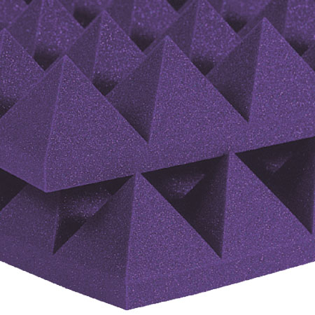 Studiofoam Pyramids 10cm Purple