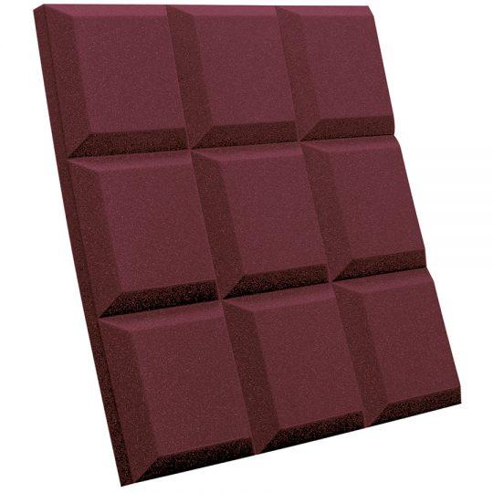 Sonoflat-Grid burgundy (bordeaux)