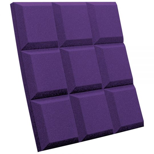 SonoFlat-Grid purple (viola)