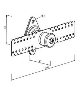 Sospensione elastica per contropareti isolante MF506