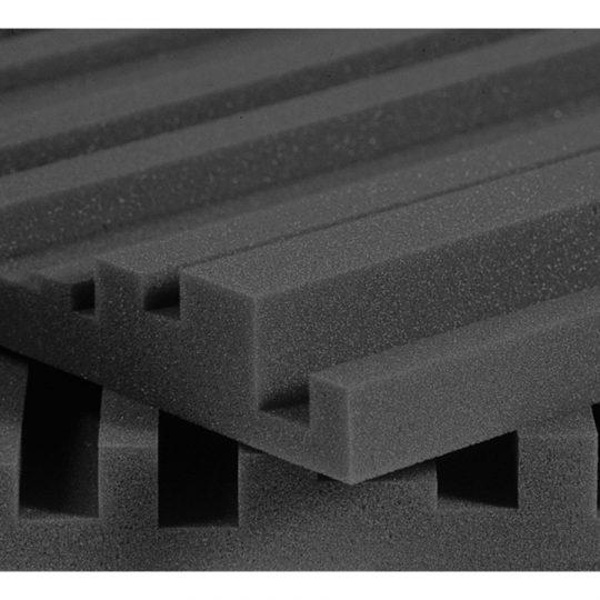 Pannelli fonoassorbenti Auralex Studiofoam Metro 5cm charcoal (grigio)