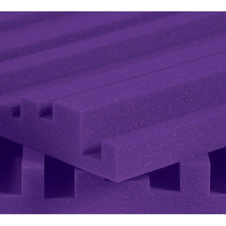 Pannelli fonoassorbenti Auralex Studiofoam Metro 5cm purple (viola)