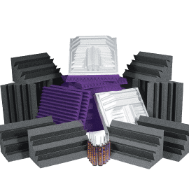 kit di trattamento acustico