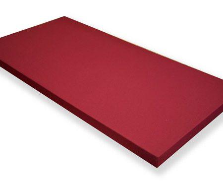 Pannelli Fonoassorbenti in fibra di poliestere e stoffa.